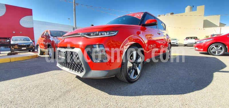Kia Soul 5 pts. EX PACK, 2.0L, 147HP, TA6, A/AC, f. led, RA usado (2020) color Rojo precio $340,000