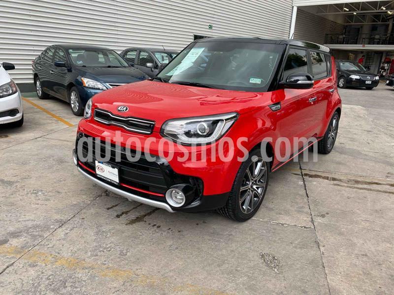 Kia Soul SX Aut usado (2018) color Rojo precio $309,000