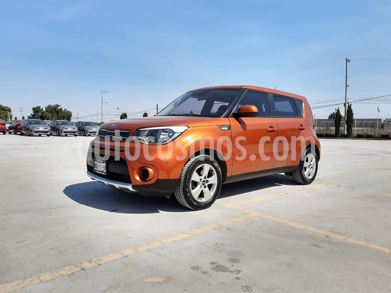 Kia Soul LX Aut usado (2017) color Naranja precio $210,000