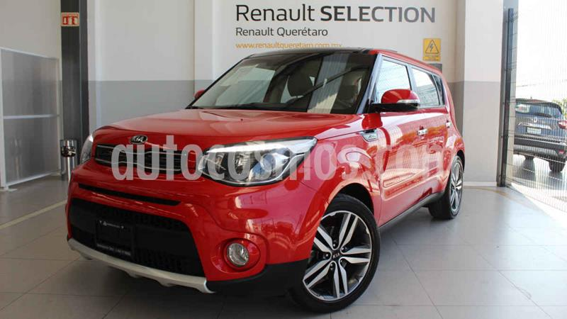Kia Soul EX Aut usado (2018) color Rojo precio $275,000
