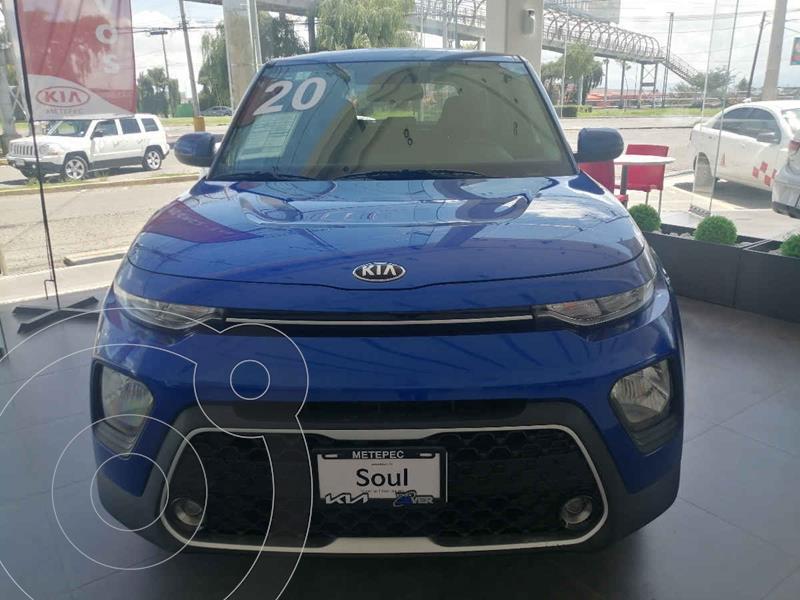 Foto Kia Soul LX usado (2020) color Azul precio $290,000