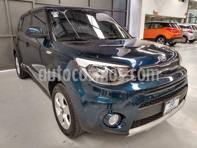 Kia Soul LX Aut usado (2019) color Azul precio $238,900