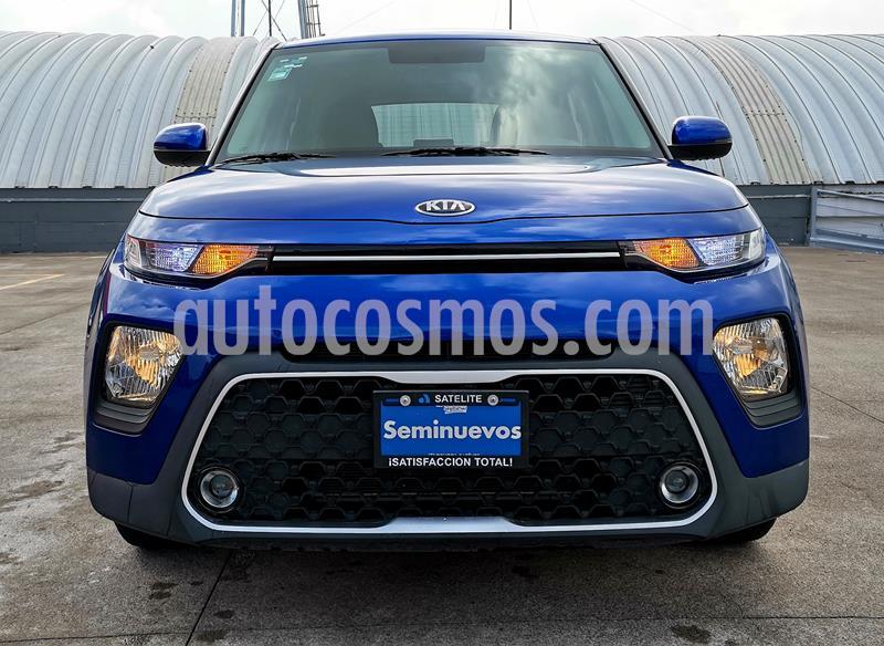 Kia Soul LX usado (2020) color Azul Neptuno precio $245,000