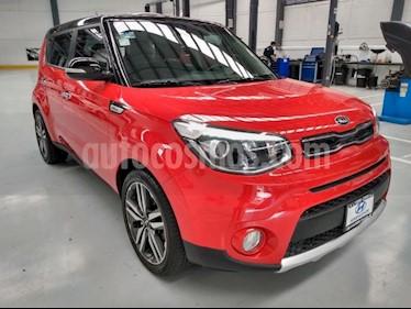 Kia Soul 5P EX 20L 150 HP TA A/AC AUT. F. NIEBLA RA-18 usado (2018) color Rojo precio $289,000