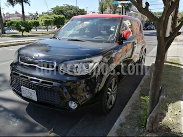 Kia Soul EX Aut usado (2016) color Negro precio $225,000