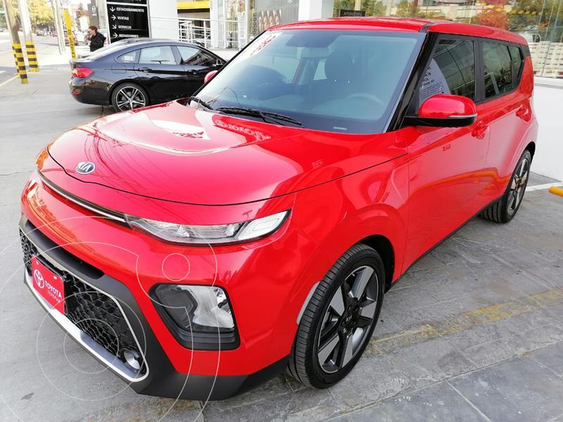 Kia Soul LX usado (2020) color Rojo Infierno precio $257,000
