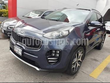 Foto venta Auto usado Kia Sportage 5p SXL L4/2.4 Aut AWD (2018) color Azul Marino precio $384,900