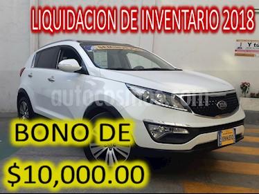 Foto venta Auto usado Kia Sportage EX Pack 2.0L Aut (2016) color Blanco precio $327,500