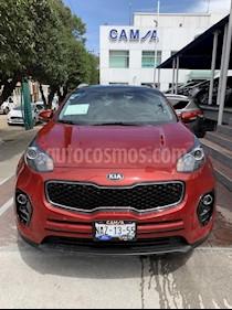Foto venta Auto usado Kia Sportage EX Pack 2.0L Aut (2017) color Vino Tinto precio $365,900