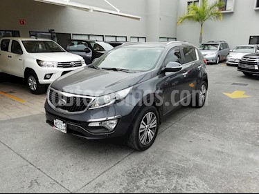 Foto venta Auto Seminuevo Kia Sportage EX Pack 2.0L Aut (2016) color Gris precio $329,000