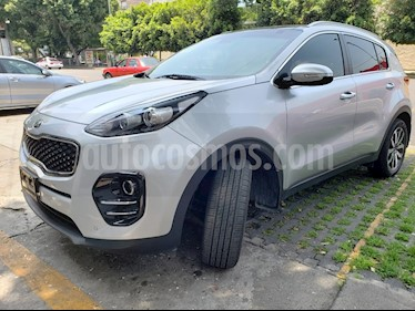 Foto venta Auto usado Kia Sportage EX Pack 2.0L Aut (2016) color Gris Metalico precio $299,000