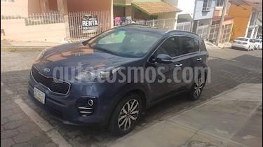 Foto venta Auto usado Kia Sportage EX Pack 2.0L Aut (2016) color Azul Intense precio $295,000