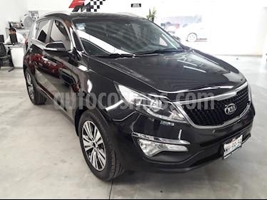 Foto venta Auto usado Kia Sportage EX Pack 2.0L Aut (2016) color Negro precio $289,000