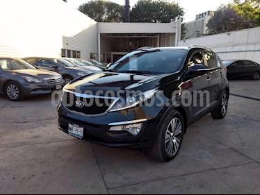 Foto venta Auto usado Kia Sportage EX Pack 2.0L Aut (2016) color Negro precio $299,000