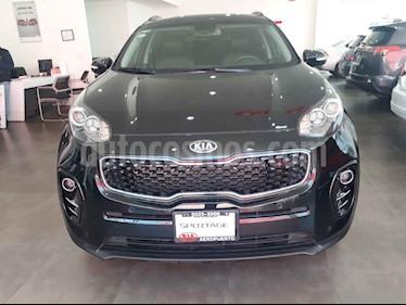 Foto venta Auto usado Kia Sportage EX Pack 2.0L Aut (2017) color Negro precio $329,000