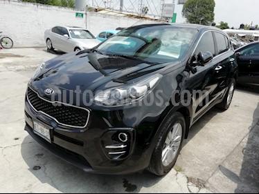Foto venta Auto usado Kia Sportage EX Pack 2.0L (2017) color Negro precio $299,000