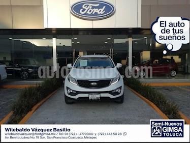 Foto venta Auto usado Kia Sportage EX (2016) color Blanco precio $264,000