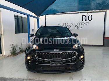 Kia Sportage EX Pack 2.0L Aut usado (2016) color Negro precio $298,000
