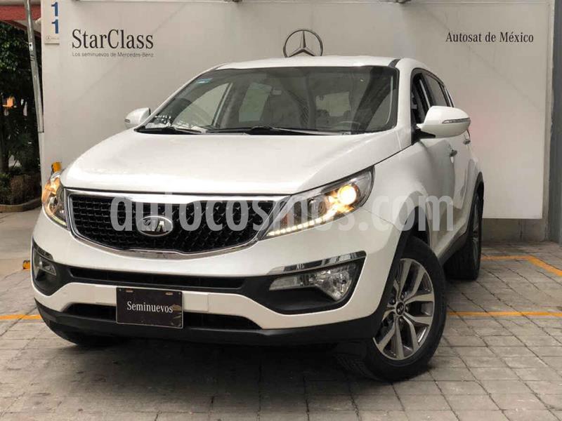 Kia Sportage EX 2.0L usado (2016) color Blanco precio $285,000