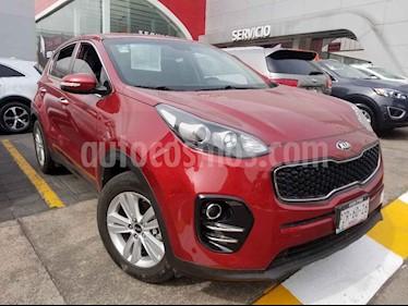 Kia Sportage 5 pts. EX, TA A/AC, Tela Camara reversa f. niebla  usado (2018) color Rojo precio $320,000