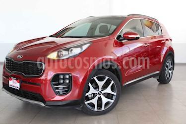 Kia Sportage 5 pts. SXL, TA A/AC, Camara reversa QCP GPS AWD HI usado (2018) color Rojo precio $369,000