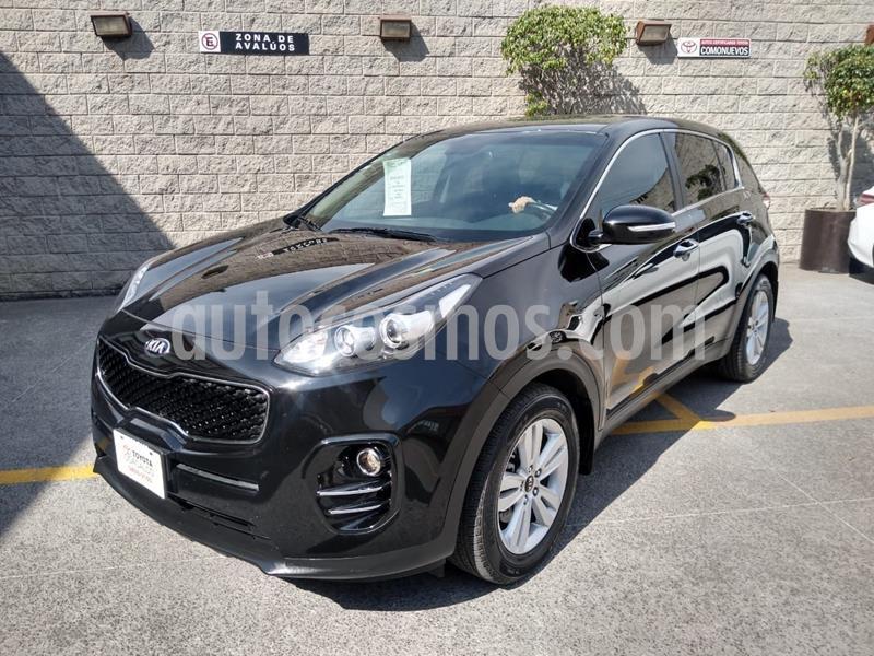Kia Sportage EX 2.0L usado (2017) color Negro precio $280,000