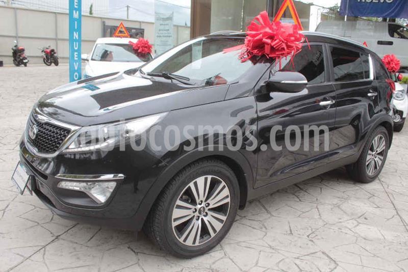 Kia Sportage EX Pack 2.0L Aut usado (2016) color Negro precio $269,000
