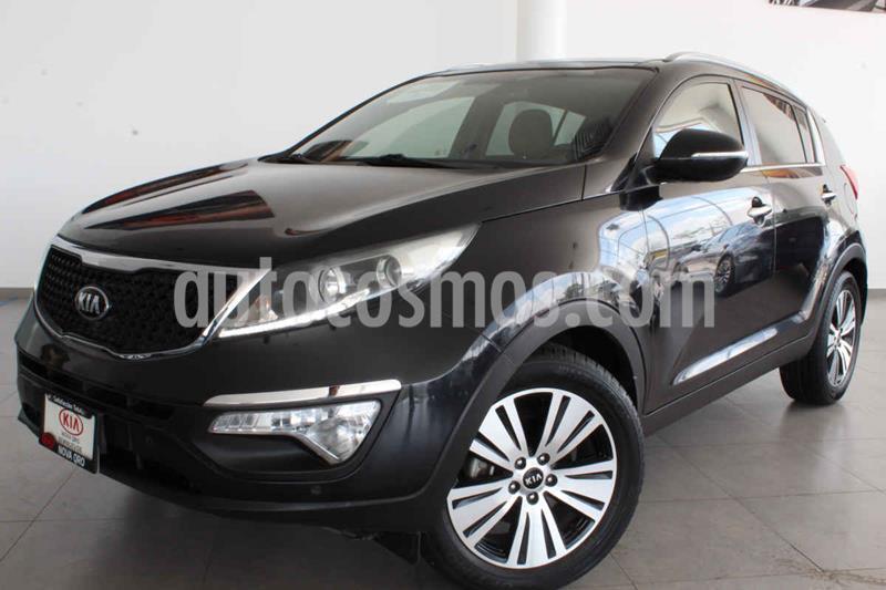 Kia Sportage EX Pack 2.0L Aut usado (2016) color Negro precio $295,000