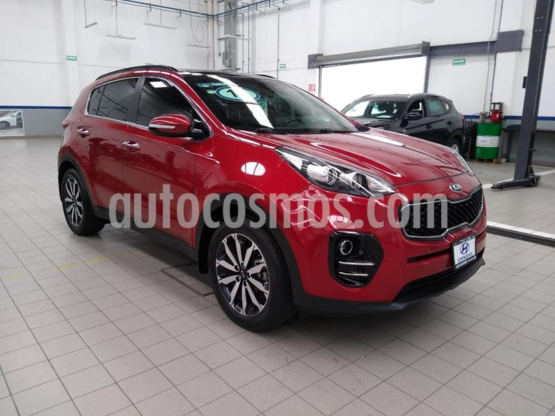 Kia Sportage EX Pack 2.0L usado (2018) color Rojo precio $338,000