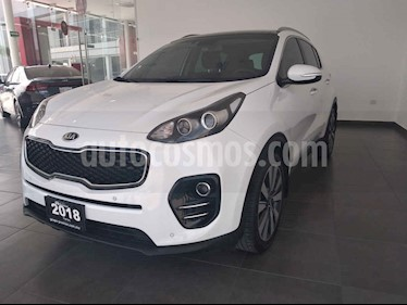 Kia Sportage 5 pts. EX PACK, TA A/AC, Camara reversa QCP GPS RA usado (2018) color Blanco precio $360,000