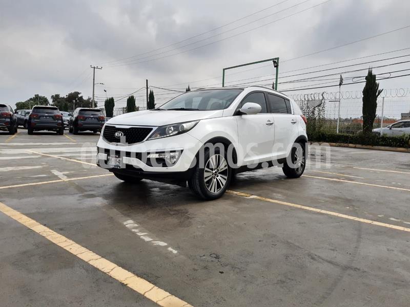 Kia Sportage EX Pack 2.0L usado (2016) color Blanco precio $285,000