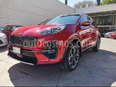 Kia Sportage 5 pts. SXL, 2.4 L, TA A/AC, Piel, Camara reversa Q usado (2019) color Rojo precio $490,000