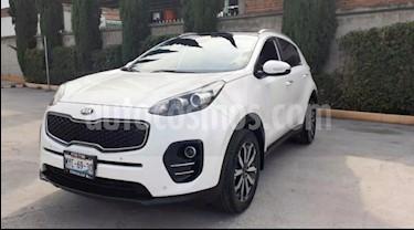 Kia Sportage 5P EX PACK TA A/AC AUT. PIEL CAMARA REVERSA QCP G usado (2016) color Blanco precio $285,000