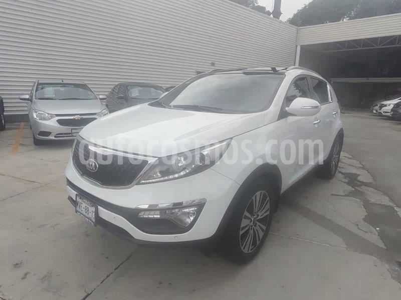 Kia Sportage EX Pack 2.0L Aut usado (2016) color Blanco precio $285,000