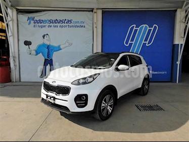 Kia Sportage 5 pts. EX PACK, TA A/AC, Camara reversa QCP GPS RA usado (2018) color Blanco precio $150,000