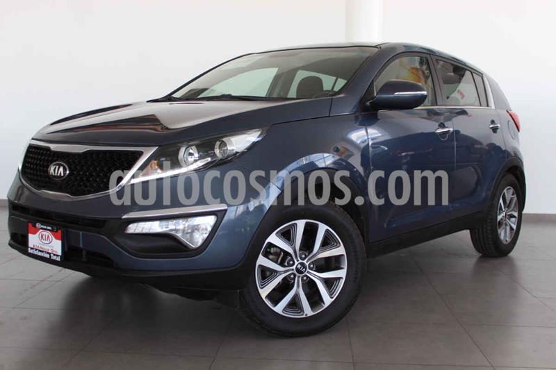 Kia Sportage EX 2.0L Aut usado (2016) color Azul precio $246,000