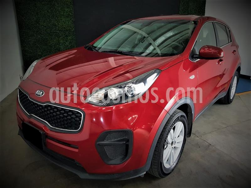 Kia Sportage LX 2.0L Aut usado (2018) color Rojo precio $267,999