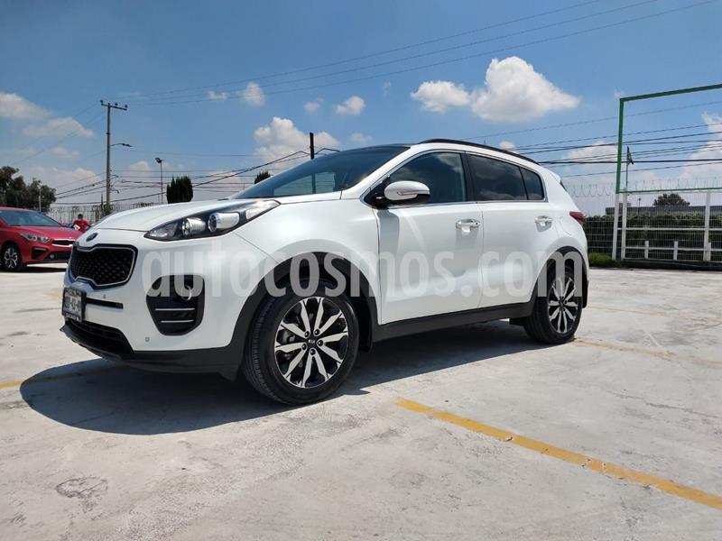 Kia Sportage EX Pack 2.0L usado (2017) color Blanco precio $319,000