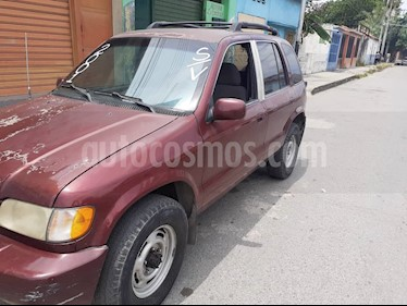 Foto venta carro usado Kia Sportage Sinc. 4 Ptas. Wagon  4x4 (2001) color Rojo precio u$s1.650