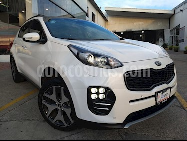 Foto venta Auto usado Kia Sportage SXL 2.4L (2018) color Blanco precio $369,900
