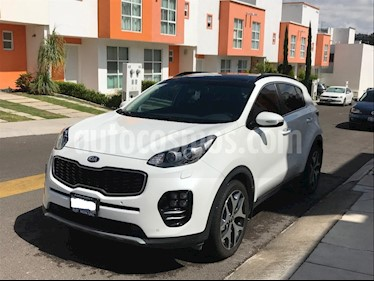 Foto venta Auto usado Kia Sportage SXL 2.4L (2018) color Blanco Perla precio $440,000