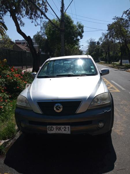 Kia SSorento EX 3.5L Aut Cuero  usado (2004) color Gris Plata  precio $5.550.000