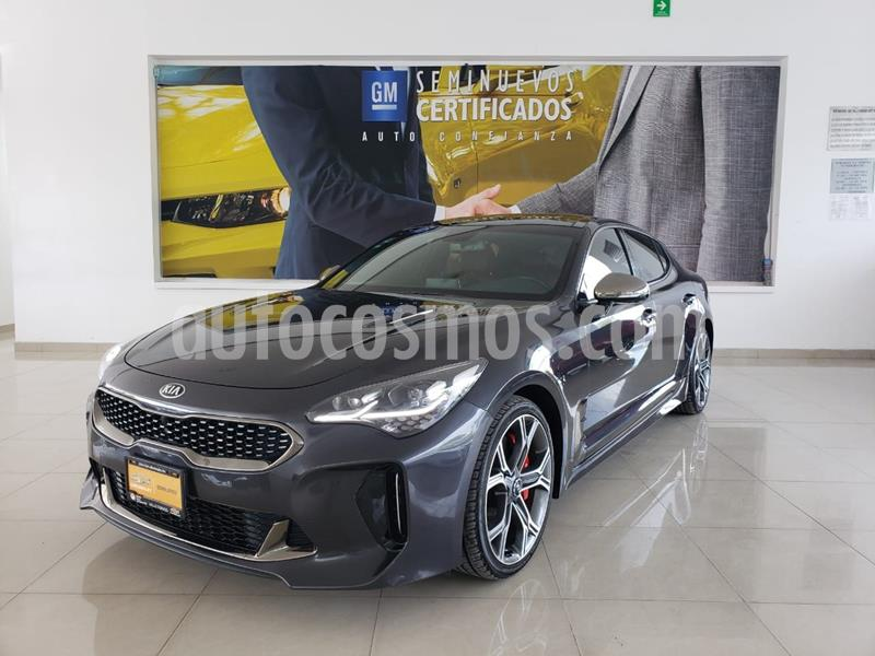 Kia Stinger GT usado (2019) color Gris Oscuro precio $585,900