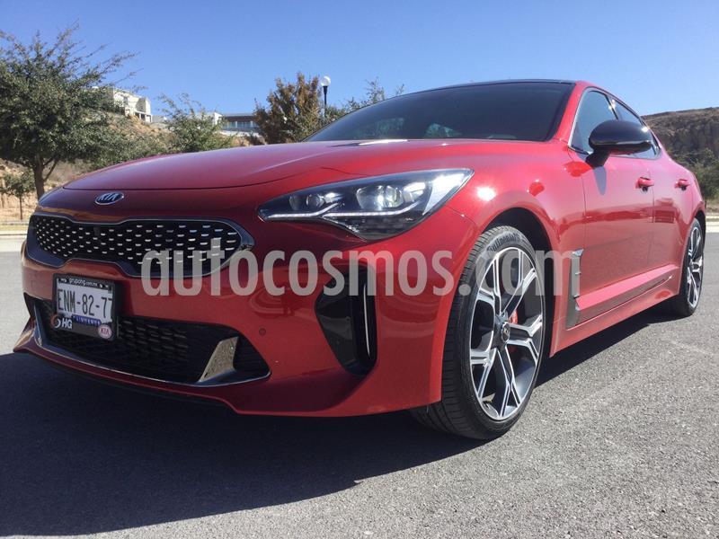 Kia Stinger GT Line usado (2019) color Rojo precio $670,000