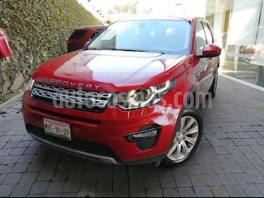 Foto Land Rover Discovery Sport 5p HSE L4/2.0/T Aut usado (2015) color Rojo precio $490,000