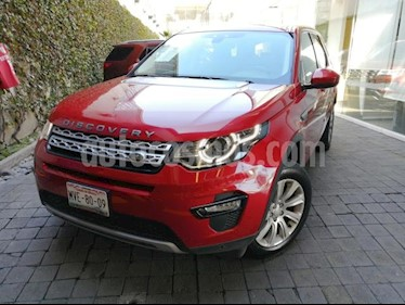 Land Rover Discovery Sport 5p HSE L4/2.0/T Aut usado (2015) color Rojo precio $490,000