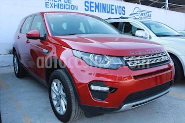 Land Rover Discovery Sport HSE usado (2017) color Rojo precio $695,000