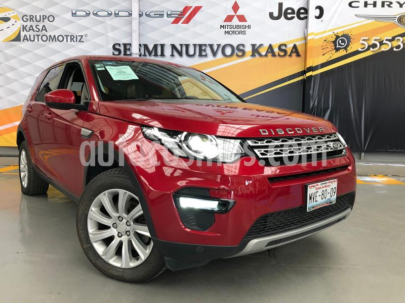 Land Rover Discovery Sport HSE Luxury usado (2015) color Rojo precio $399,000