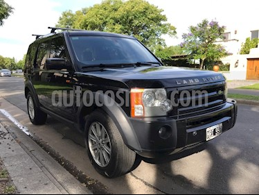 Land Rover Discovery III TDV6 HSE 2.7 Aut usado (2008) color Negro precio u$s21.500