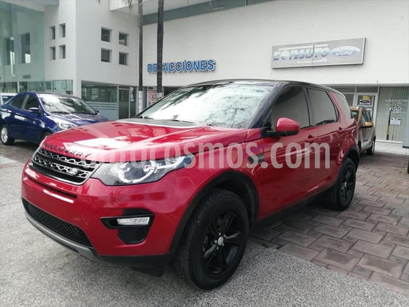 Land Rover Discovery SE usado (2016) color Rojo precio $454,000